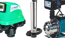Pumps, Water Saving Devices and Accessories